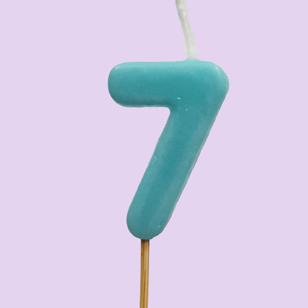 Numbered Candle 7